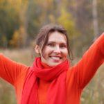 Vrouw in balans: acupunctuur werkt!