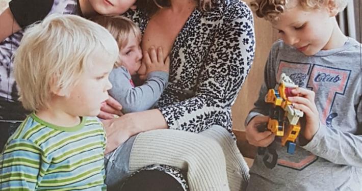 Danielle Willems borstvoeding kinderen