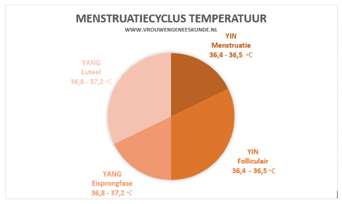 Temperatuur menstruatiecyclus Chinese Geneeskunde